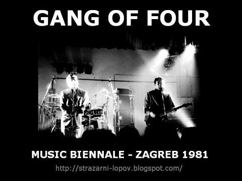 GANG OF FOUR - Zagreb 1981