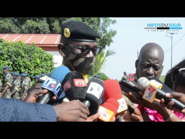Thiès : Le colonel Boubacar Koïta nouveau commandant de la zone militaire n°7.