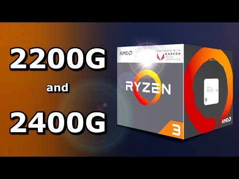 AMD's 2200G and 2400G: Ultra-Budget Gaming