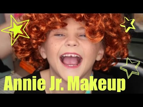 Annie KIDS Makeup Tutorial