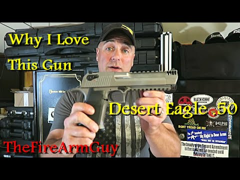 Desert Eagle .50 - Why I Love Owning This Gun - TheFireArmGuy streaming vf