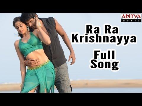 Ra Ra Krishnayya Full Song || Ra Ra Krishnayya Movie || Sundeep Kishan, Regina Cassandra