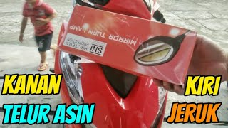 Cara Pasang Spion LED New Beat 2020