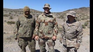 Desert Camouflage Effectiveness