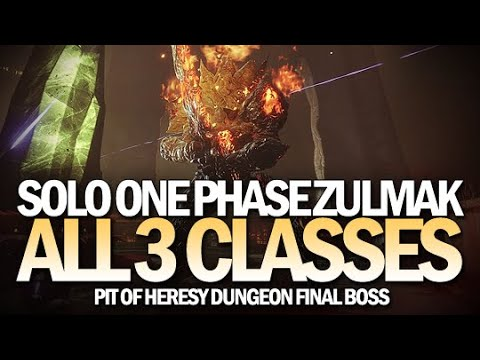 Solo One Phase Zulmak On All 3 Classes (Pit Of Heresy Final Boss) [Destiny 2]