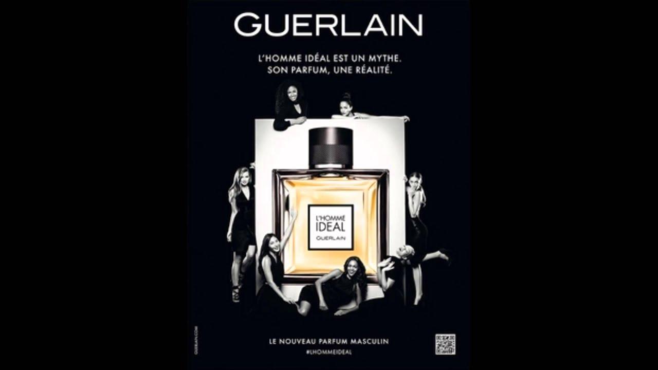 Pub Ideal Homme Guerlain Musique 2014 b67fgy
