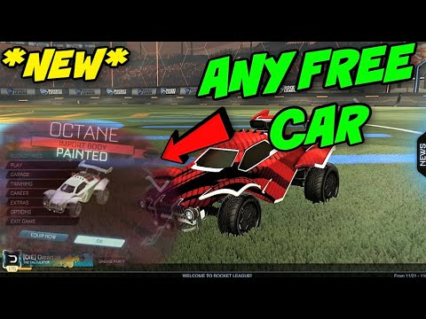 HOW TO GET FREE ROCKET LEAGUE CARS [2020] ROCKET LEAGUE FREE AND EASY CREDITS AND  ITEMS