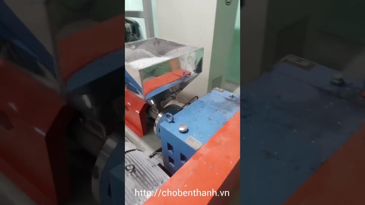 Máy sản xuất túi ni lông đựng rác !
