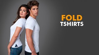 Fold a Shirt - How to fold a shirt in 5 seconds