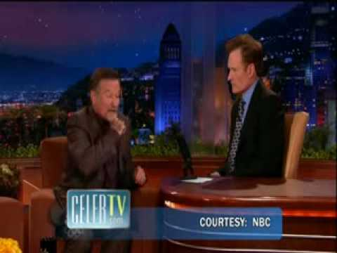 Robin 3 Williams' Irish Jig on Conan O'Brien's Tonight Show