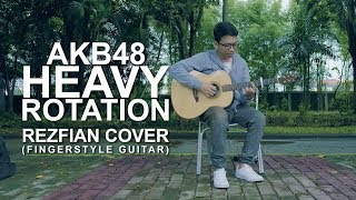 Gambar cover AKB48 - Heavy Rotation | Rezfian Fingerstyle Guitar Cover