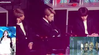 Download BTS (RM, JIMIN AND JUNGKOOK) REACTION TO JENNIE (CLOSE-UP) | GDA 2019 | SOLO