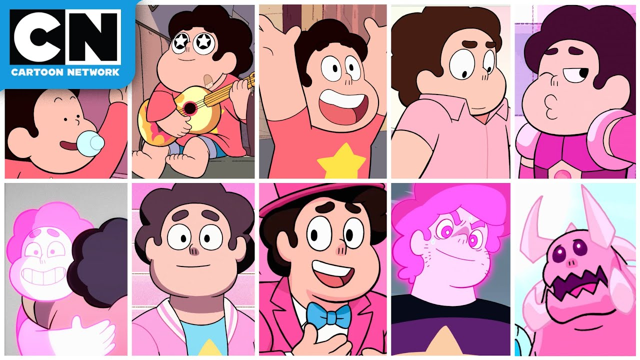 All Of Steven S Life Stages Steven Universe Cartoon Network Youtube