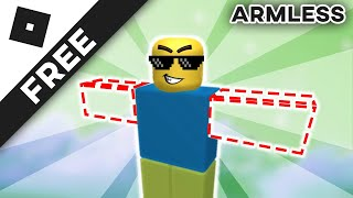 how to spook people with no arms and legs in roblox