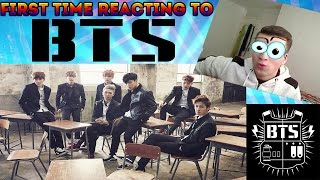 FIRST TIME REACTING TO BTS (K-POP)