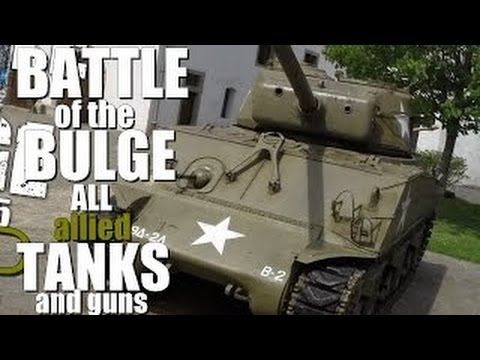 Battle of the Bulge - All Allied Tanks and
