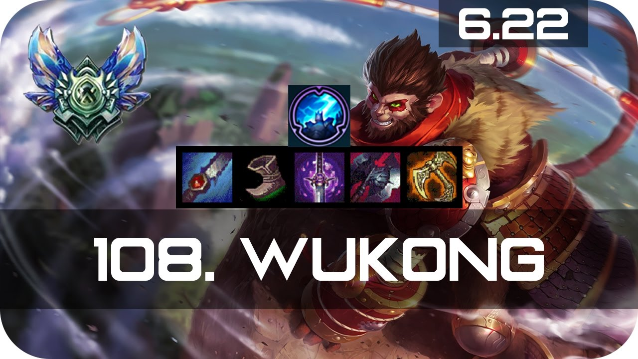 Wukong Jungle Vs Talon Diamond Preseason 7 Season 7 S7 Patch 6 22 2017 Gameplay Guide Build Youtube