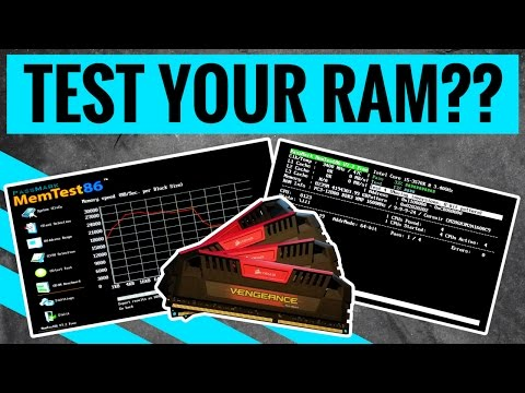 Test Ram With Memtest86 Now With Uefi Support