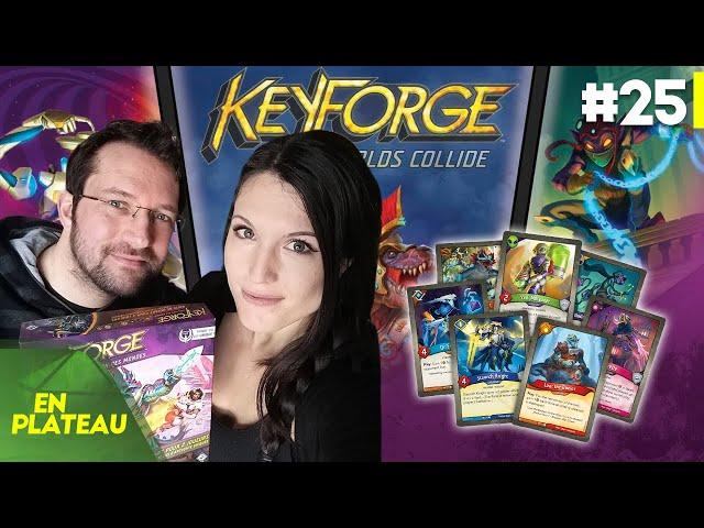 Découverte à deux : Keyforge et ses decks uniques ! | En Plateau à la maison #25