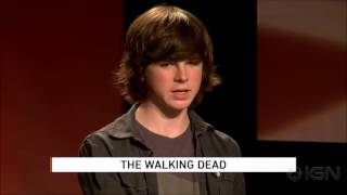 Chandler Riggs Funny Moments