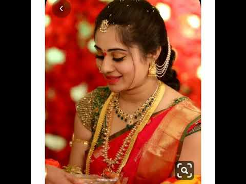 South Indian wedding looks ||| latest saree designs..