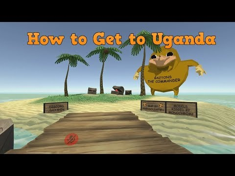 How To Get to Uganda and Knuckles skin In VRchat