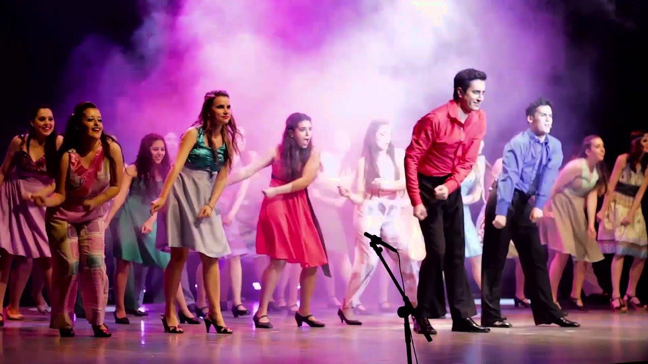 Fiebre De Sábado Por La Noche Staying Alive Show Anual 2015 Comedia Musical Córdo Youtube