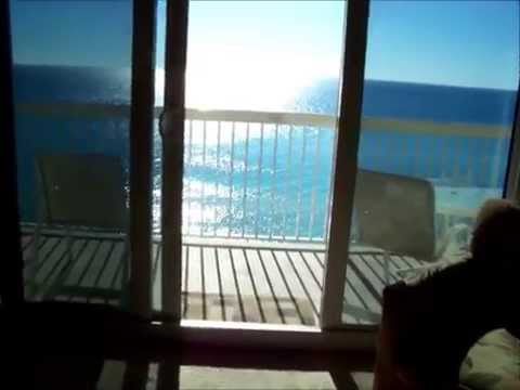 Seychelles 904:  Gulf Front Condo in  Panama City Beach, FL
