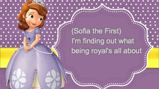 Sofia The First: Theme Song Lyrics