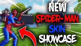 *NEW* FREE SPIDER MAN SKIN GAMEPLAY FORTNITE BATTLE ROYALE LIVE STREAM (Member Goal 8/10)