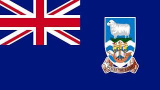 Bandera e Himno de Islas Malvinas (Reino Unido) - Flag of Falkland Islands (United Kingdom)