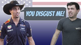 Daniel Ricciardo Roasts Everything