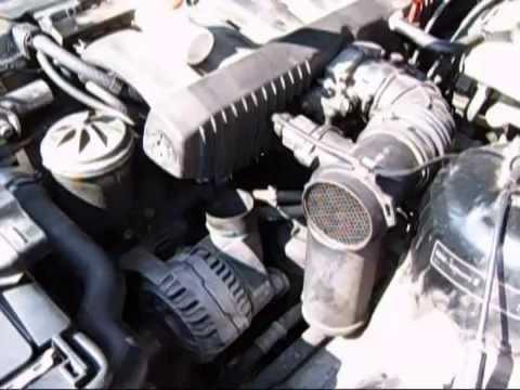 BMW E36 1994 IDLE components under Intake manifold HD