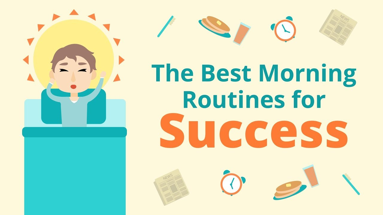 Morning Routines of Successful People | Brian Tracy - YouTube