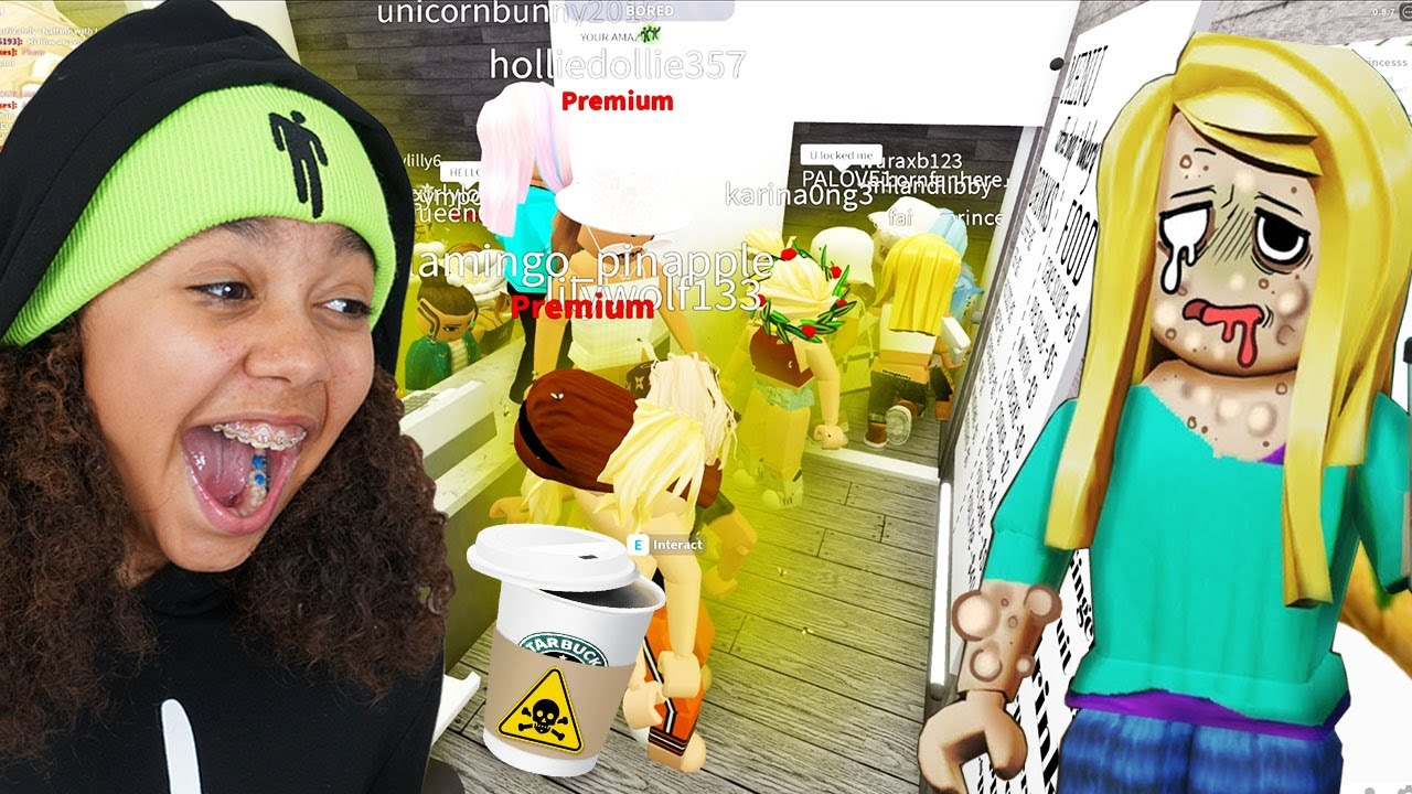 My Starbucks Customers STINK!! Roblox Bloxburg