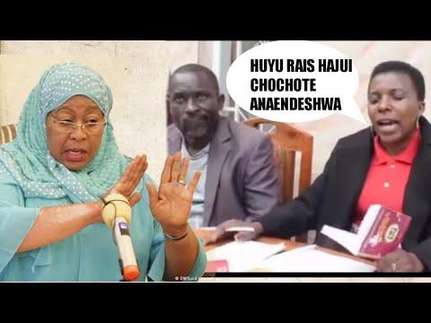 Download MAMA WA CHADEMA _AMVAA RAIS SAMIA HUYU SIYO RAIS ANAENDESHWA HAJUI CHOCHOTE.