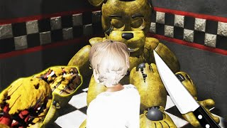 Soy SPRINGTRAP ! y meto NIÑOS Dentro de GOLDEN FREDDY ! EPICO | FNAF The Killer in Purple Simulator