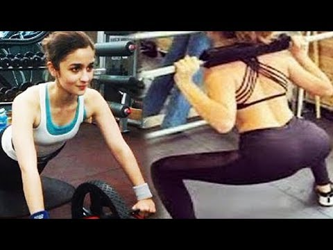 How To Get Hot BODY Like Alia Bhatt | Workout Video!