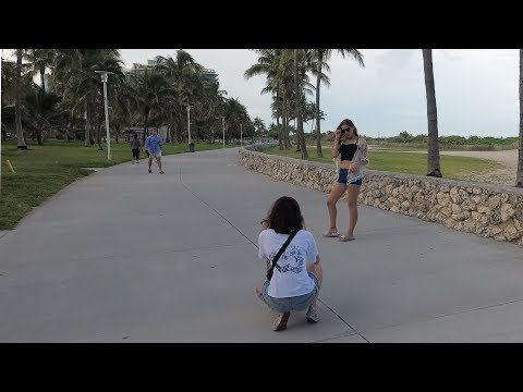 South Beach Miami Boardwalk on an Electric Unicycle