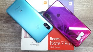 Redmi Note 7 Pro vs Mi A2 - Which Should You Buy ?
