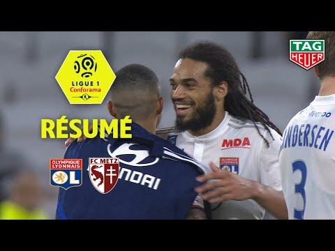 Olympique Lyonnais - FC Metz ( 2-0 ) - Résumé - (OL - FCM) / 2019-20