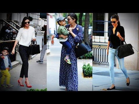 Miranda Kerr in 3 Street Style Looks | Celebrity Style | Fashion Flash