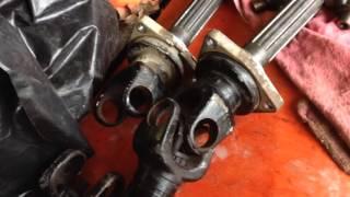 2012-2013 KUBOTA RTV900 4X4 Rear Axle U Joint