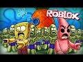 Roblox | Zombies Kill Spongebob! (Spongebob Zombie Apocalypse in Roblox)