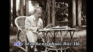 Karaoke Việt Bắc nhớ Bác Hồ (có lời Tày)
