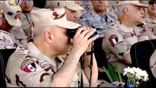 """صدقي صبحي يشهد البيان العملي لهيئة الإمداد والتموين للقوات المسلحة """"إمداد - 1"""""""