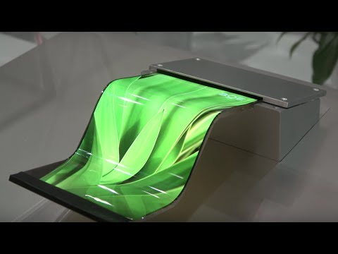 "BOE Flexible OLED, 27"" 8K, Bezel-less, foldable phone, AMQLED, 4K and more"