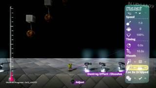 LittleBigPlanet 2 BETA Create Mode Walkthrough, Part 4: World & Object Tweakers and Powerups