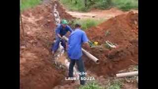construção de rede de água
