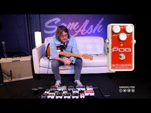 Electro Harmonix Nano POG Guitar Effects Pedal Overview